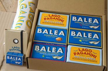 Caixa degustación Balea Paganini
