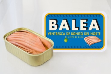 Albacore tuna fillets. 112 gr.
