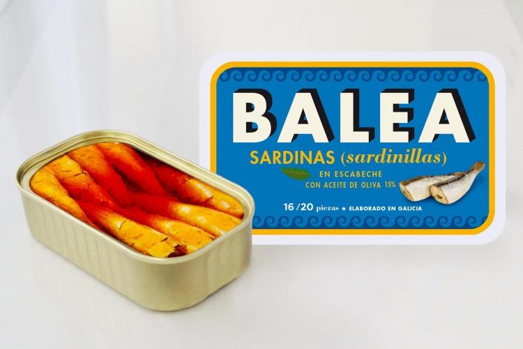 Sardinillas en escabeche. 16/20 piezas. 115 g.