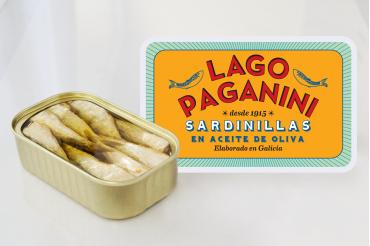 Petit sardines des rias galiciennes à l'huile d'olive , 20/25 pièces, 115 g