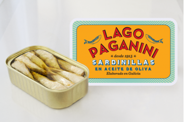 Pilchards from the galician rias in olive oil, 20/25 pieces, 115 g