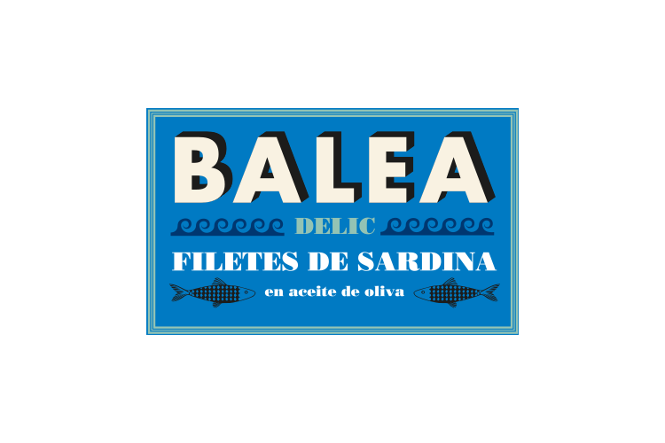 Caja 12 latas - Filete de Sardina en aceite de oliva Balea DELIC