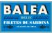 Caja 24 latas - Filete de Sardina en aceite de oliva Balea DELIC
