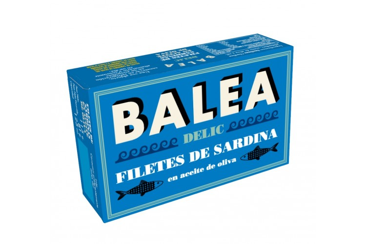 Filete de Sardina en aceite de oliva Balea DELIC
