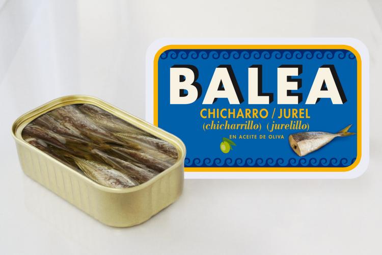 Jurel en aceite de oliva ( Jurelillo). 115 gr